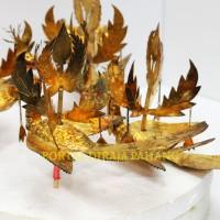 bunga cogan burung kuning