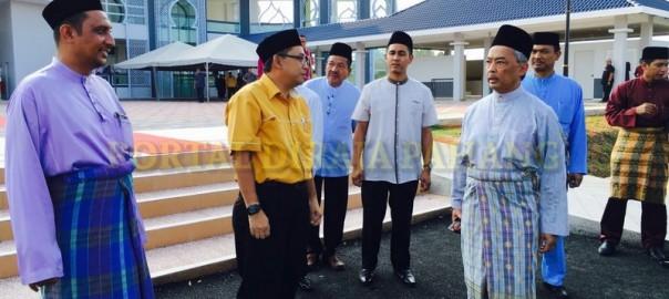 Tengku Mahkota Pahang Singgah Solat Asar 5