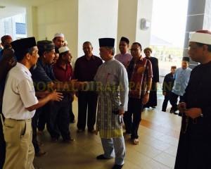 Tengku Mahkota Pahang Singgah Solat Asar 9