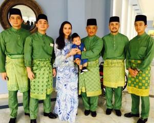Keluarga Diraja Pahang – Aidil Fitri  –  2