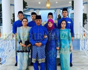 Keluarga Diraja Pahang – Aidil Fitri  –  4