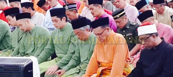 Keluarga Diraja Pahang - Masjid Negeri  -  2