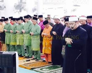 Keluarga Diraja Pahang – Masjid Negeri  –  3