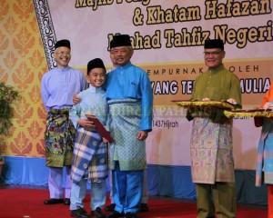 TENGKU MAHKOTA BANGGA PENCAPAIAN MAAHAD TAHFIZ NEGERI PAHANG (1)