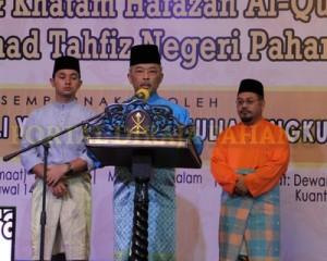 TENGKU MAHKOTA BANGGA PENCAPAIAN MAAHAD TAHFIZ NEGERI PAHANG (13)
