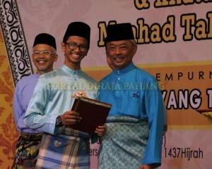 TENGKU MAHKOTA BANGGA PENCAPAIAN MAAHAD TAHFIZ NEGERI PAHANG (2)