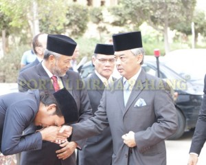 Tengku Mahkota  Pahang – Mesir  –  1