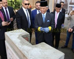 Tengku Mahkota  Pahang – Mesir  –  105