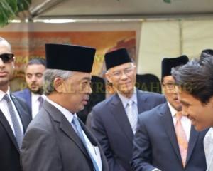 Tengku Mahkota  Pahang – Mesir  –  35