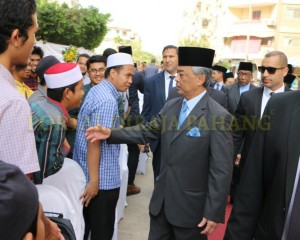 Tengku Mahkota  Pahang – Mesir  –  4