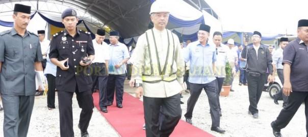 Majlis Pecah Tanah Jambatan Baharu (10)