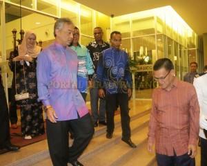 TENGKU MAHKOTA PAHANG BERANGKAT DI MAJLIS SANTAPAN MAKAN MALAM UMP (6)