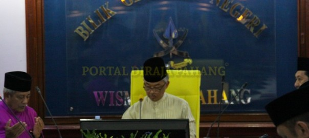 Taklimat Persediaan Menghadapi Musim Banjir Negeri Pahang (6)