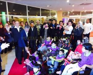 Tengku Mahkota Pahang Hadir Malam Amal Rda (1)