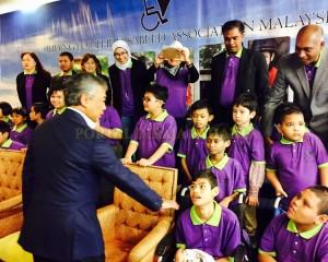 Tengku Mahkota Pahang Hadir Malam Amal Rda (2)
