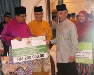 Zakat Perniagaan diterima Tengku Mahkota Pahang (3)