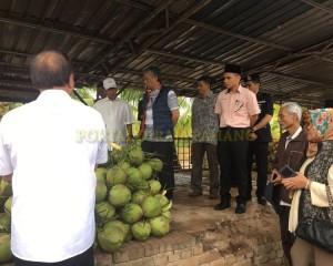 KDYMM Pemangku Raja Pahang Tinjau Operasi Ladang dan Kilang Kelapa (13)