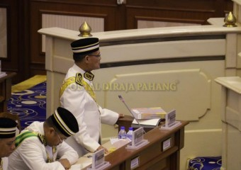 Istiadat Pembukaan Penggal Kelima Dewan Undangan Negeri (17)
