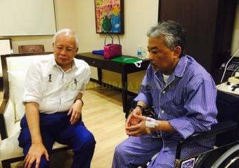 Perdana Menteri  Ziarah Pemangku Raja Pahang di Hospital (1)