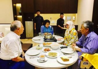 Perdana Menteri  Ziarah Pemangku Raja Pahang di Hospital (6)