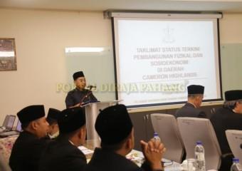 ROMBONGAN KDYMM PEMANGKU RAJA PAHANG SELAMAT MENDARAT DI TANAH RATA (13)