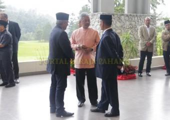 ROMBONGAN KDYMM PEMANGKU RAJA PAHANG SELAMAT MENDARAT DI TANAH RATA (20)