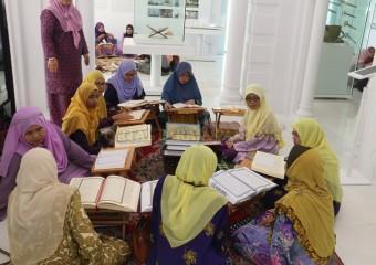 Majlis Tadarus Al-Quran Di Muzium Masjid Sultan Abdullah (2)