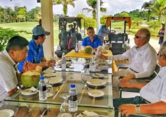 Pemangku Raja dan PM Sertai Golf Di MGCC (1)