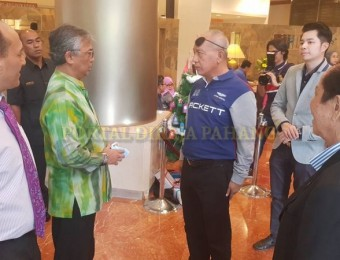 PR Pahang Bercemar Duli Berangkat Ziarah Exco Pahang (2)
