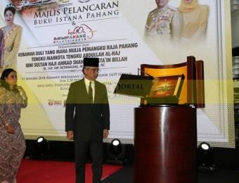 Majlis Pelancaran Buku Istana Pahang dan ReVisit Pahang 2018 (12)