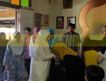 Pemangku Raja Pahang Ziarah Pengebumian Orang Besar Berlapan (1)