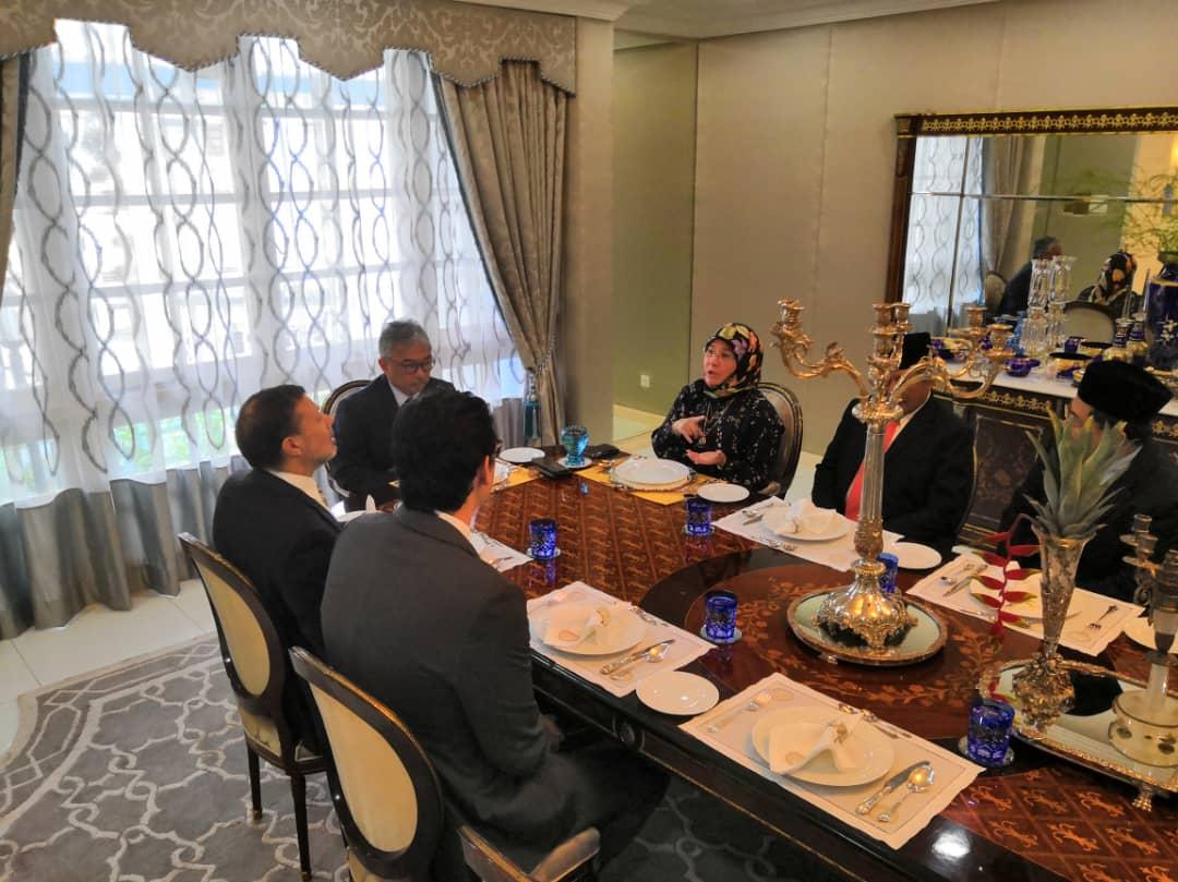 Kunjungan Hormat TYT Pesuruhjaya Tinggi Australia Ke Malaysia (1)