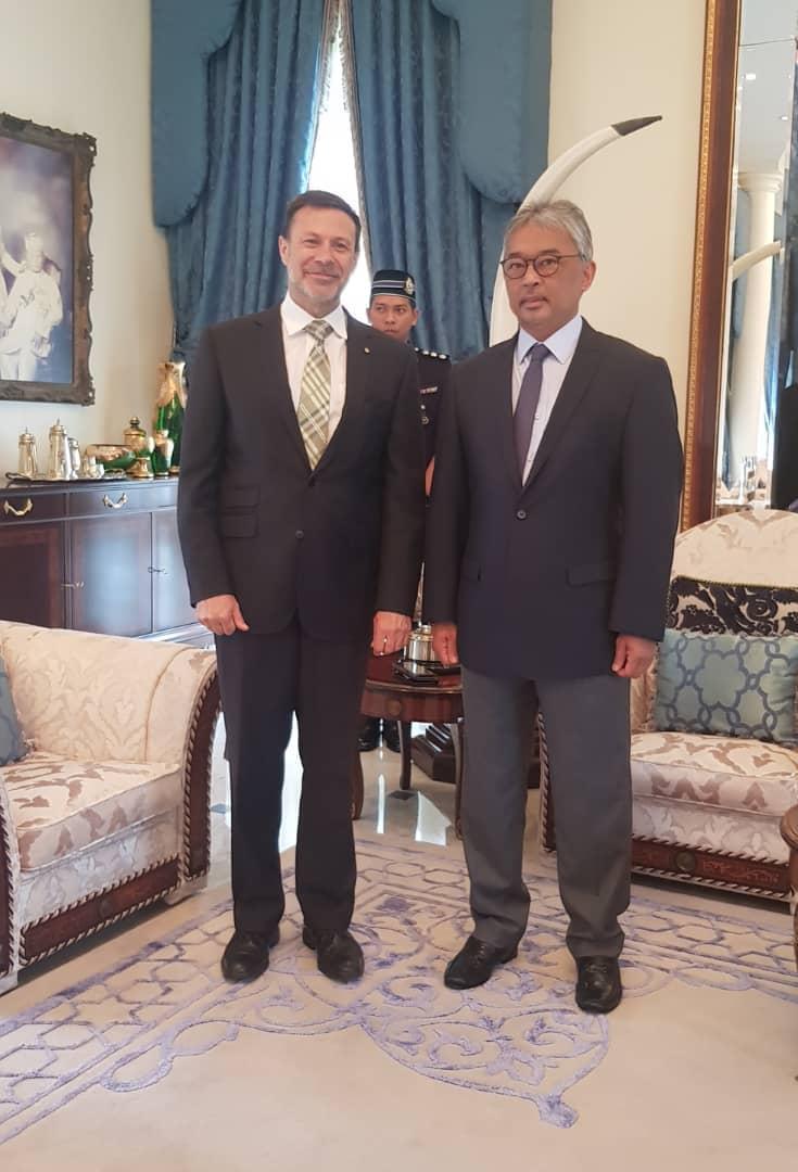 Kunjungan Hormat TYT Pesuruhjaya Tinggi Australia Ke Malaysia (11)