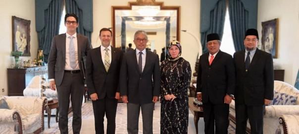Kunjungan Hormat TYT Pesuruhjaya Tinggi Australia Ke Malaysia (2)