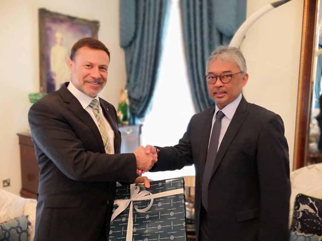 Kunjungan Hormat TYT Pesuruhjaya Tinggi Australia Ke Malaysia (8)