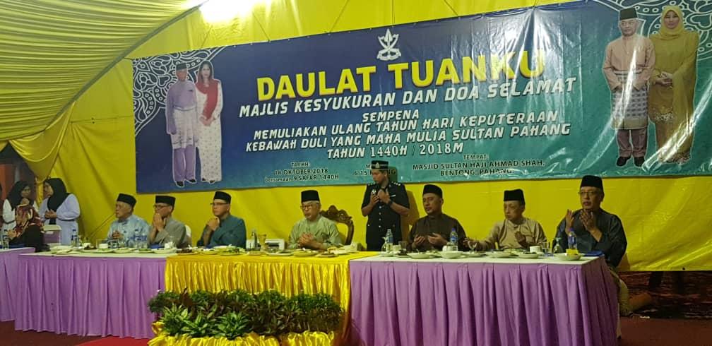 Penghargaan Rakyat Mendoakan Kesihatan Tuanku Sultan Pahang (5)