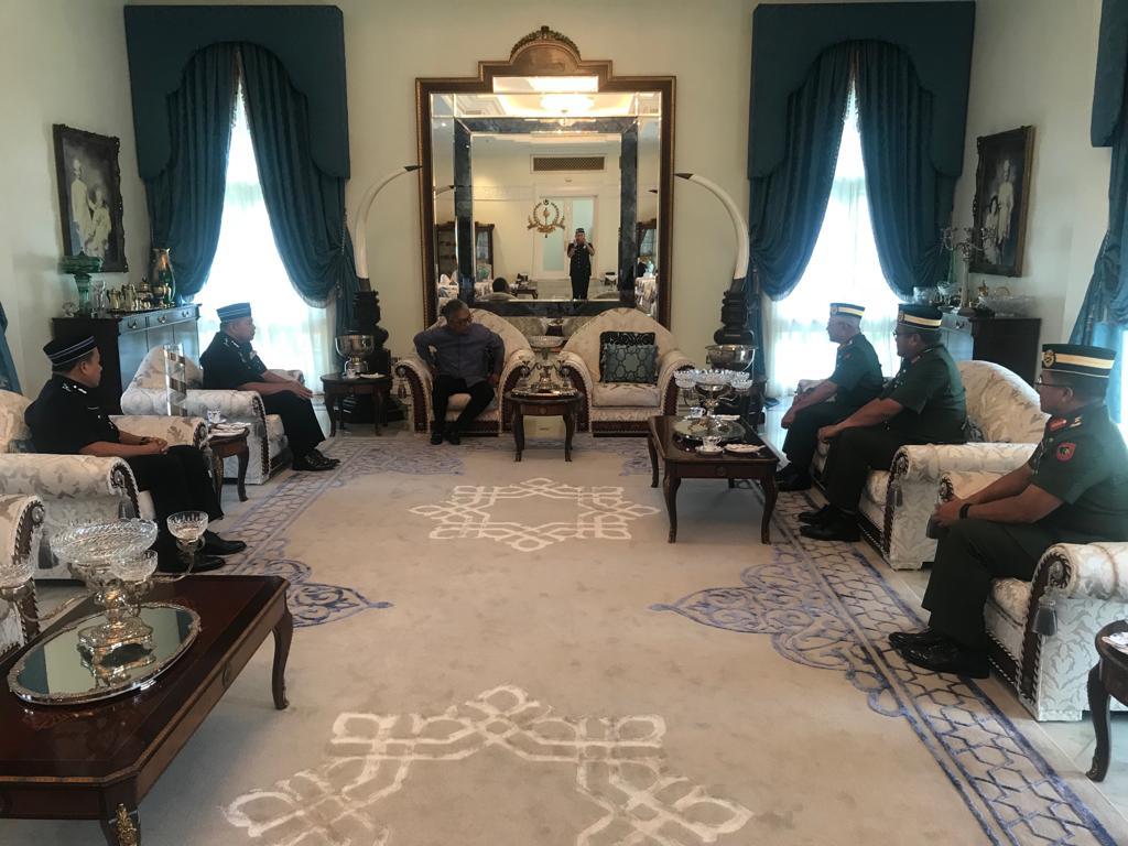 Ketua Polis Pahang Yang Baharu Menghadap Pemangku Raja (1)