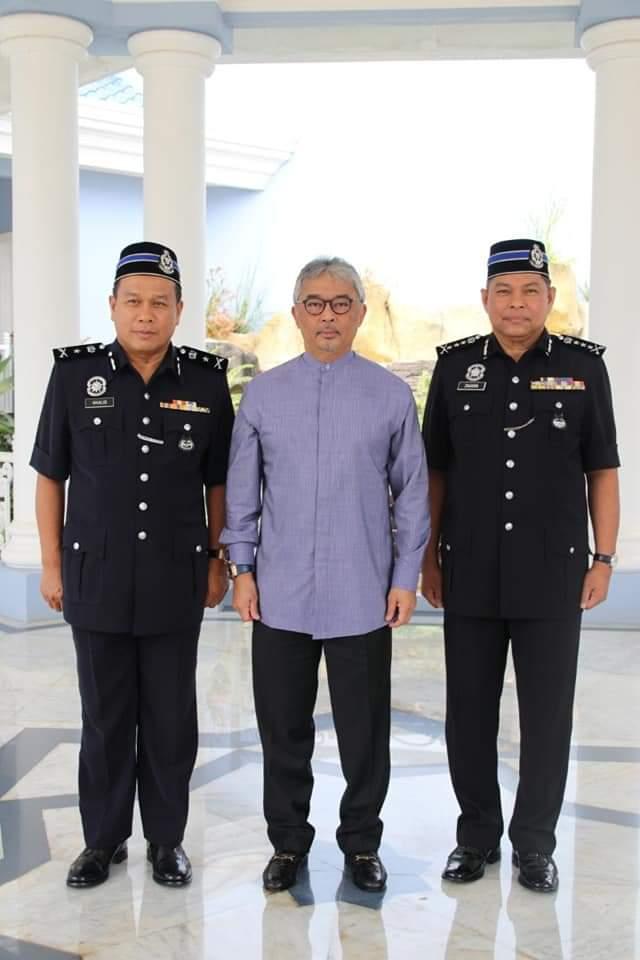 Ketua Polis Pahang Yang Baharu Menghadap Pemangku Raja (11)