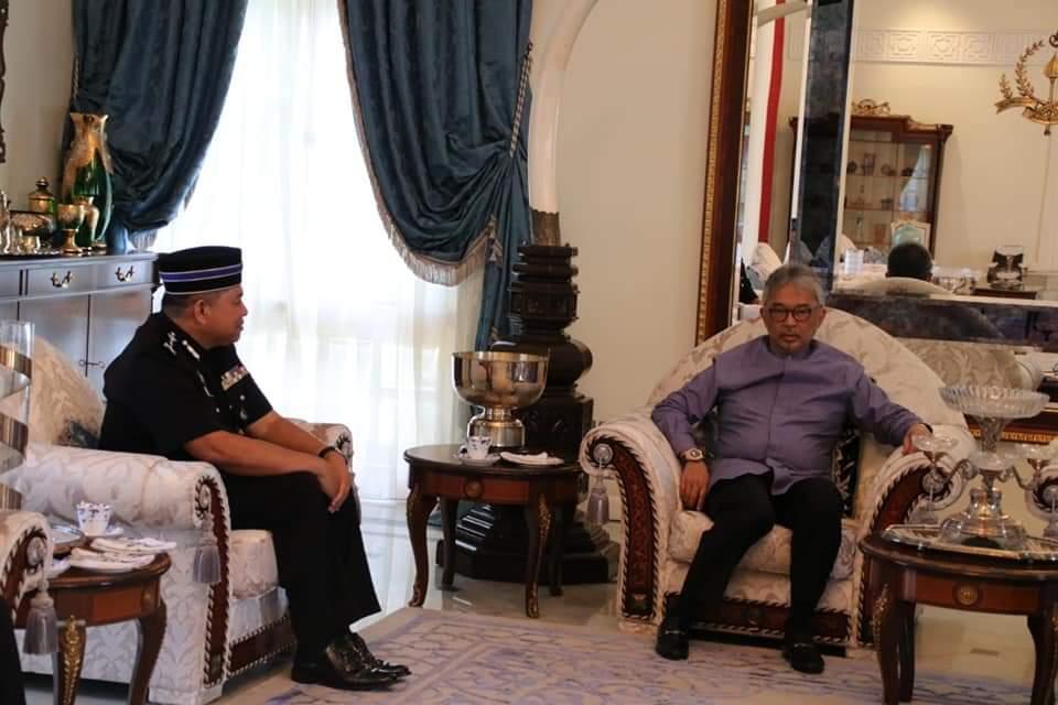 Ketua Polis Pahang Yang Baharu Menghadap Pemangku Raja (13)