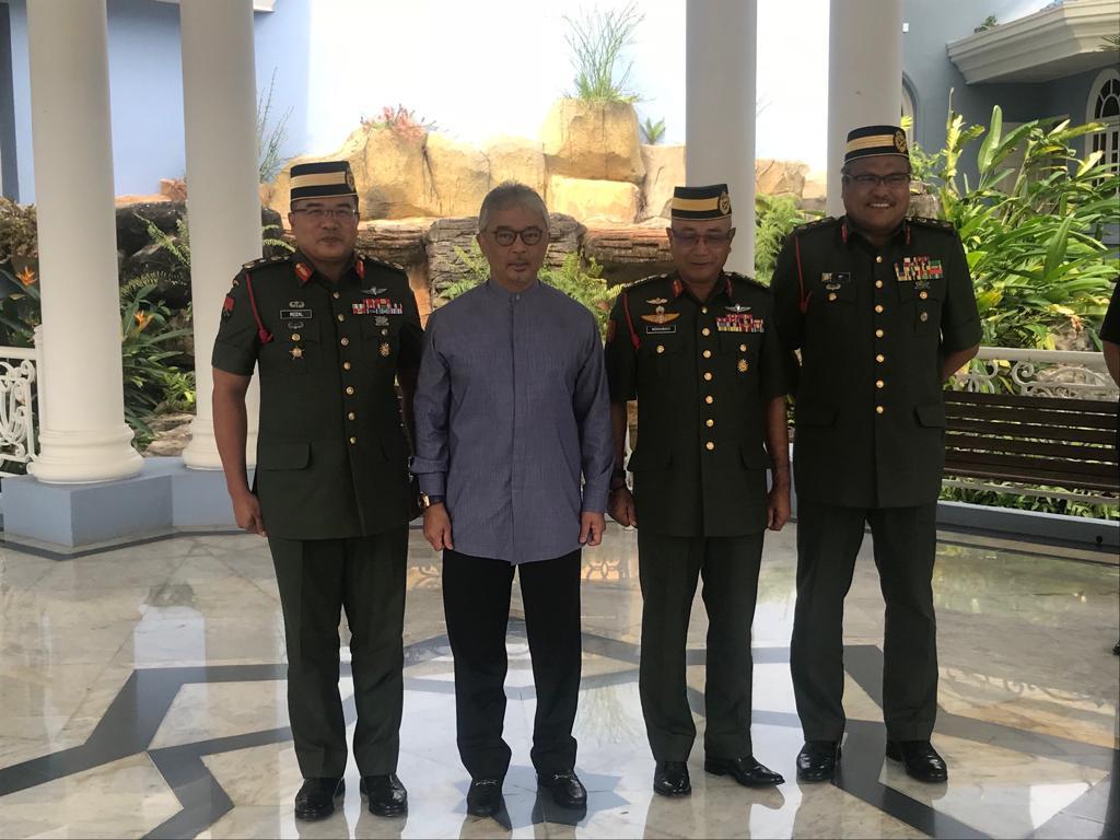 Ketua Polis Pahang Yang Baharu Menghadap Pemangku Raja (2)