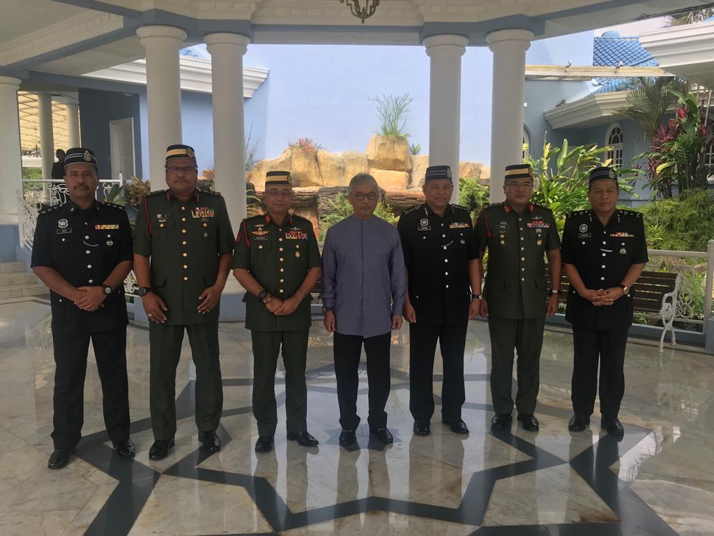 Ketua Polis Pahang Yang Baharu Menghadap Pemangku Raja (4)