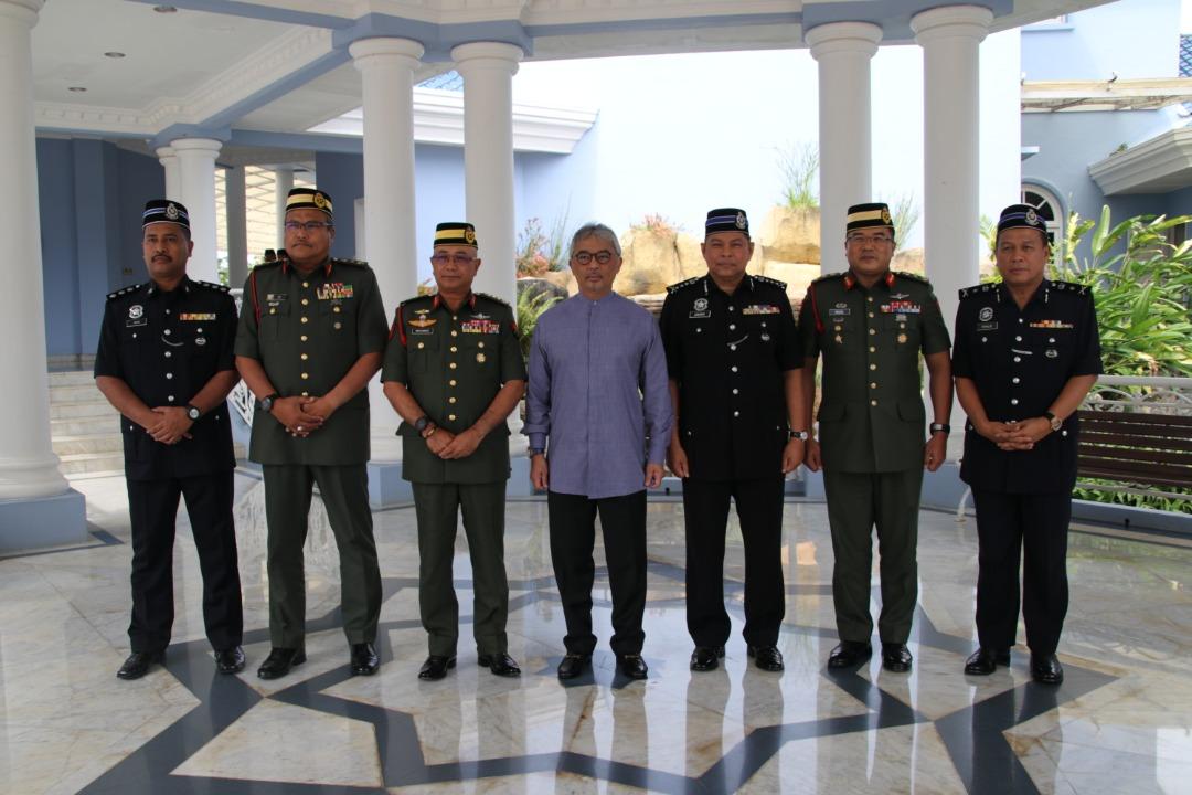 Ketua Polis Pahang Yang Baharu Menghadap Pemangku Raja (5)