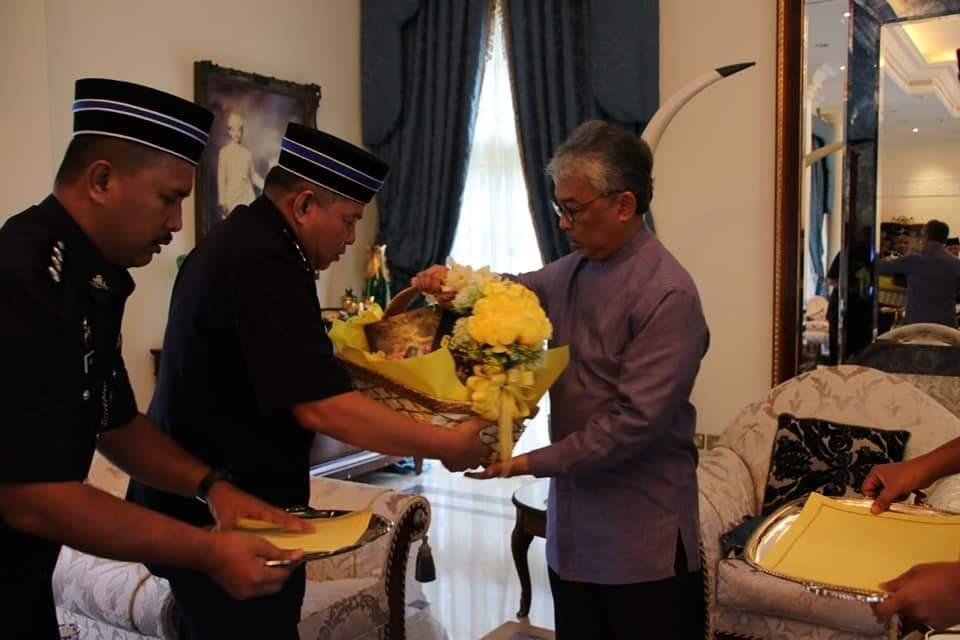 Ketua Polis Pahang Yang Baharu Menghadap Pemangku Raja (6)