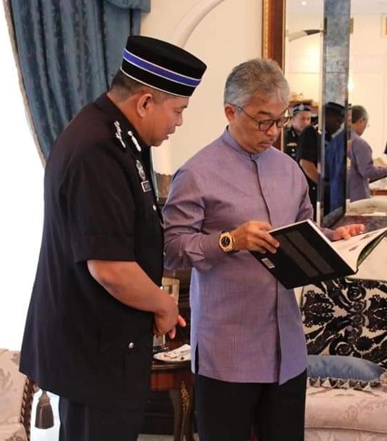 Ketua Polis Pahang Yang Baharu Menghadap Pemangku Raja (8)