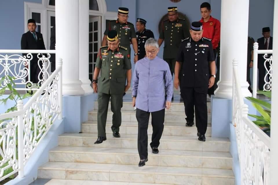 Ketua Polis Pahang Yang Baharu Menghadap Pemangku Raja (9)