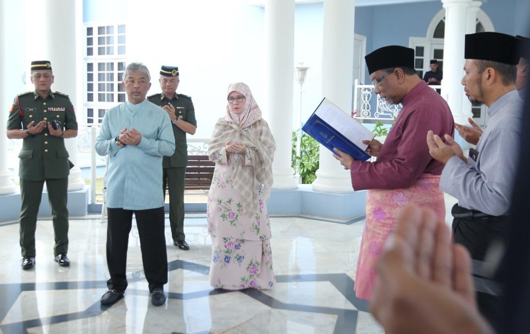 Sultan Pahang dilantik SPB Yang Dipertuan Agong (4)