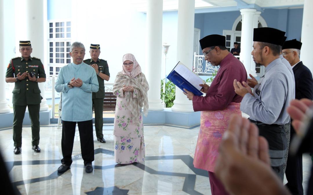 Sultan Pahang dilantik SPB Yang Dipertuan Agong (5)