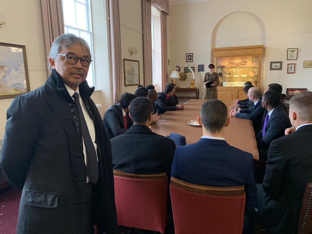 Tengku Hassanal sertai Akademi Tentera Diraja Sandhurst (4)