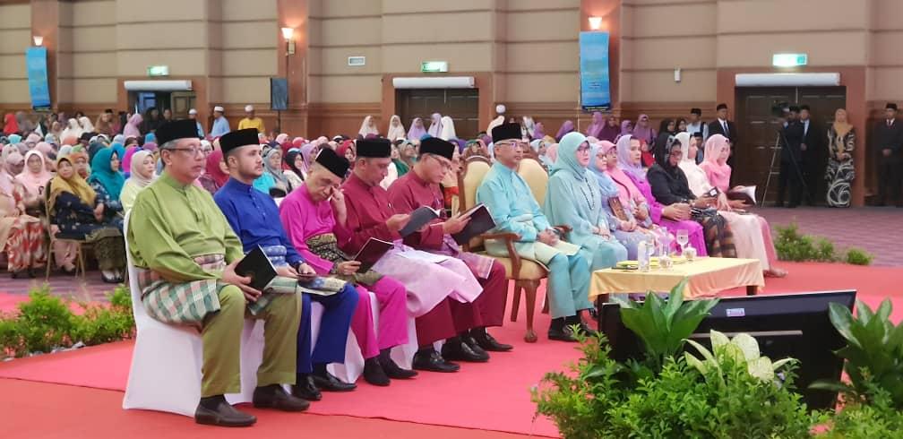 KDYMM Yang Dipertuan Agong Berangkat ke Majlis Tilawah Al-Quran (1)