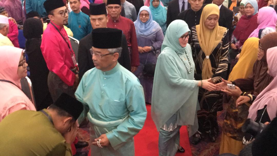 KDYMM Yang Dipertuan Agong Berangkat ke Majlis Tilawah Al-Quran (11)